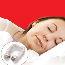 Device Magnetic Apnea Stop Snoring Guard Nose Clip Care New Anti Snore Tray Hot Aid Sleeping