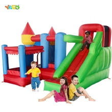 YARD Inflatable Bouncy Castle Combo with Slide Ball Pit Home Use Trampoline Park Inflatable Bounce House Castle for Kids Party(China)