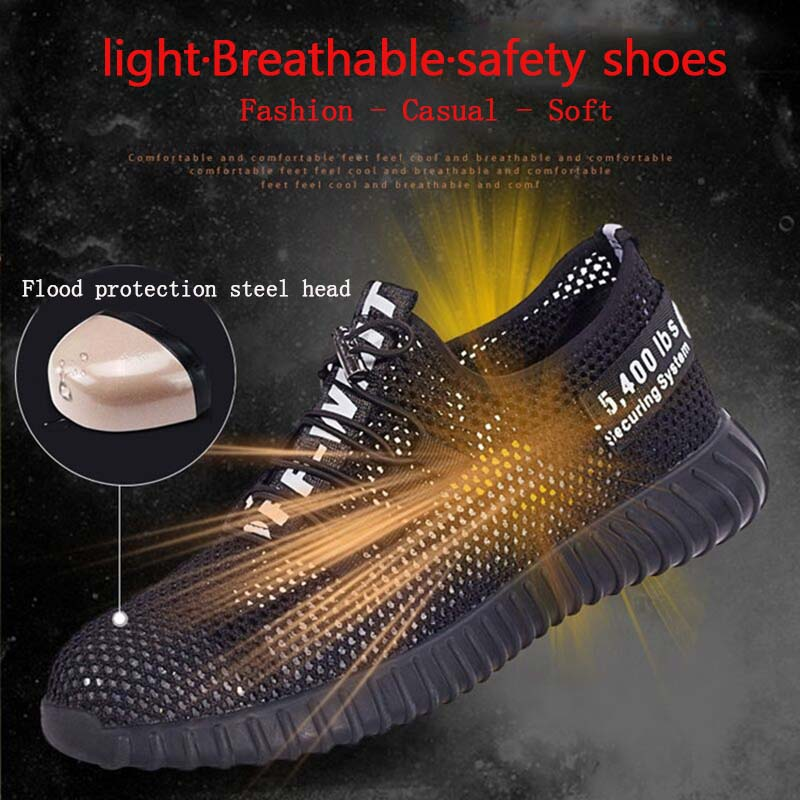 New-exhibition-breathable-safety-shoes-men\'s-Lightweight-summer-anti-smashing -piercing-Kevlar-work-sandals-Single-mesh-sneakers (13)