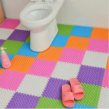 PVC Bath Mat Bathroom Safety Non-slip Stitching Kitchen Bathroom Mats Shower Floor Cushion Rug Bathmat Hot Sale 2017