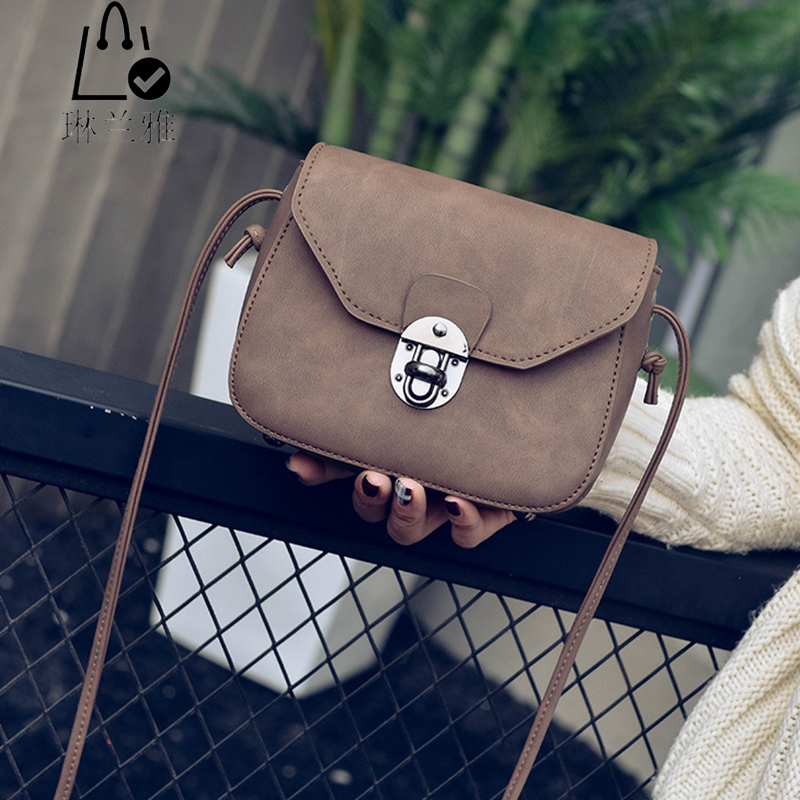 LINLANYA Fashion Women Messenger bags Ladies Vintage Saddle Shoulder bags High Quality PU Leather handbags  Y-453<br><br>Aliexpress