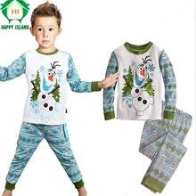 Christmas Cotton Spring Sesame Street Clothing Set Cartoon Sleepwear Pajamas Sport Suit Tracksuits For 2 to 7 Years old Children