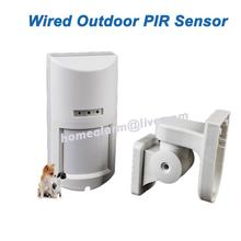 Wired IP65 Weatherproof Outdoor PIR+Microwave Alarm Motion Sensor, Pet Friendly, Free Shipping(China)