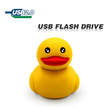 New usb flash drive 16gb 8gb  pen drive usb 2.0 cute duck free shipping 64gb  32gb usb stick Plastic U disk pendrive  cartoon