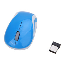 New 2.4GHz Wireless Optical Mouse/Mice USB 2.0 Receiver Adapter For PC Computer Windows Mac OS Game Gaming Mouse Maus raton