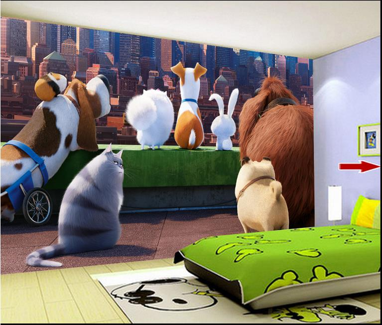 Custom 3d wallpaper walls Big secret love child pet backdrop wallpaper brick wall 3d wallpaper living room<br><br>Aliexpress