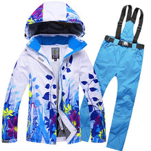 Men or Women Ski Suits Ski Jacket and Pant Snowboarding Suits Coat and Trousers Waterproof Windproof Ski Clothes Winter Clothing