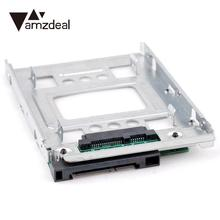 "Buy AMZDEAL 2.5"" SSD 3.5"" SATA Adapter Hard Disk Drive HDD Adapter Tray Converter HDD Bracket DELL/HP/IBM/Lenovo for $11.21 in AliExpress store"