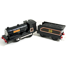T0233 Electric Thomas and friend Douglas with a carriage Track master engine Motorized train  child plastic toys