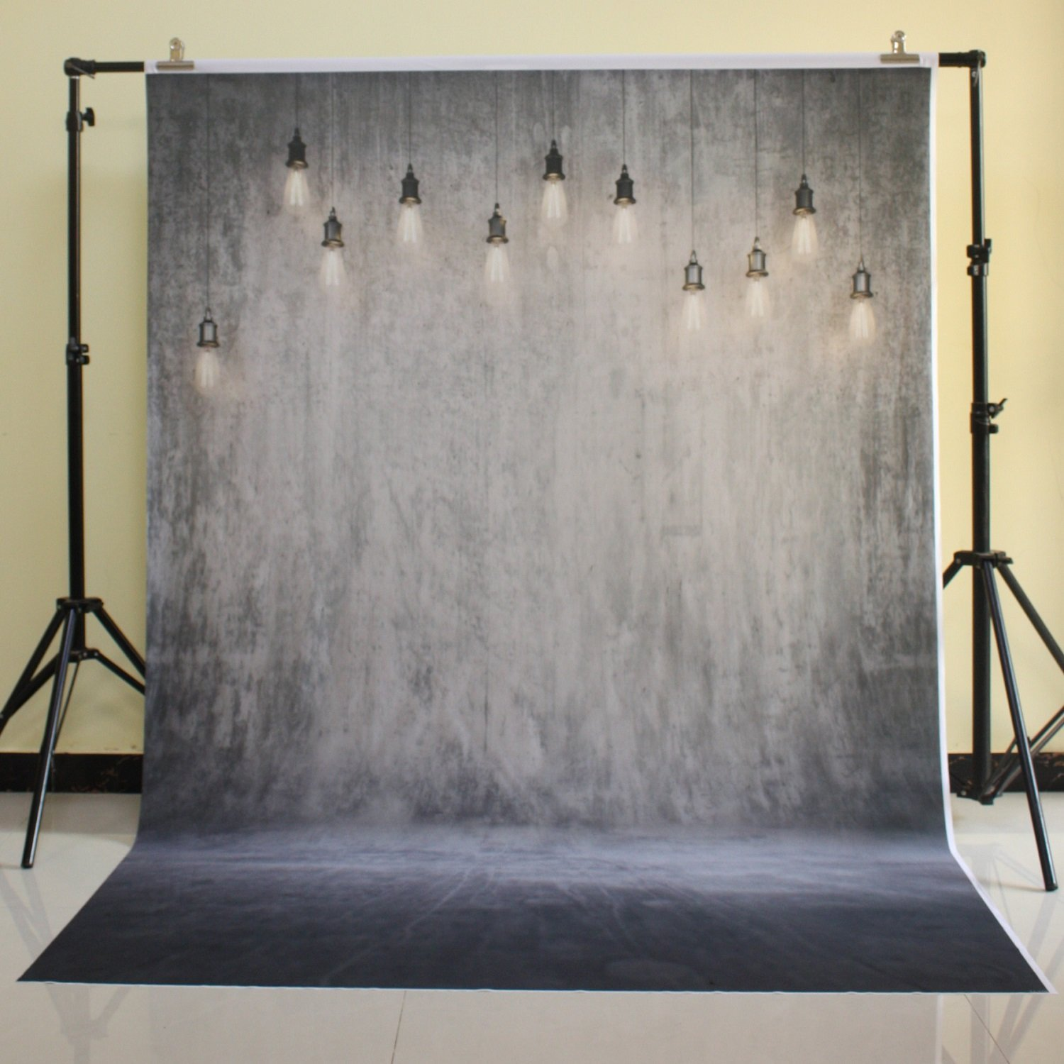 150x220cm Cotton Polyester Dark Deep Color Background Christmas Party Backdrop Children Photo Backdrop Hanging light wall D-7967<br>