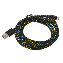 2M Hemp Rope Micro USB Charger Sync Data Cable Cord for Cell Phone Good Quality MOSUNX Futural Digital  Hot Selling F35