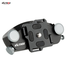 Virtrox VX-10 Metal Quick Release Camera Waist Strap Belt Buckle Button Mount Clip for Canon Nikon Sony DSLR Cameras
