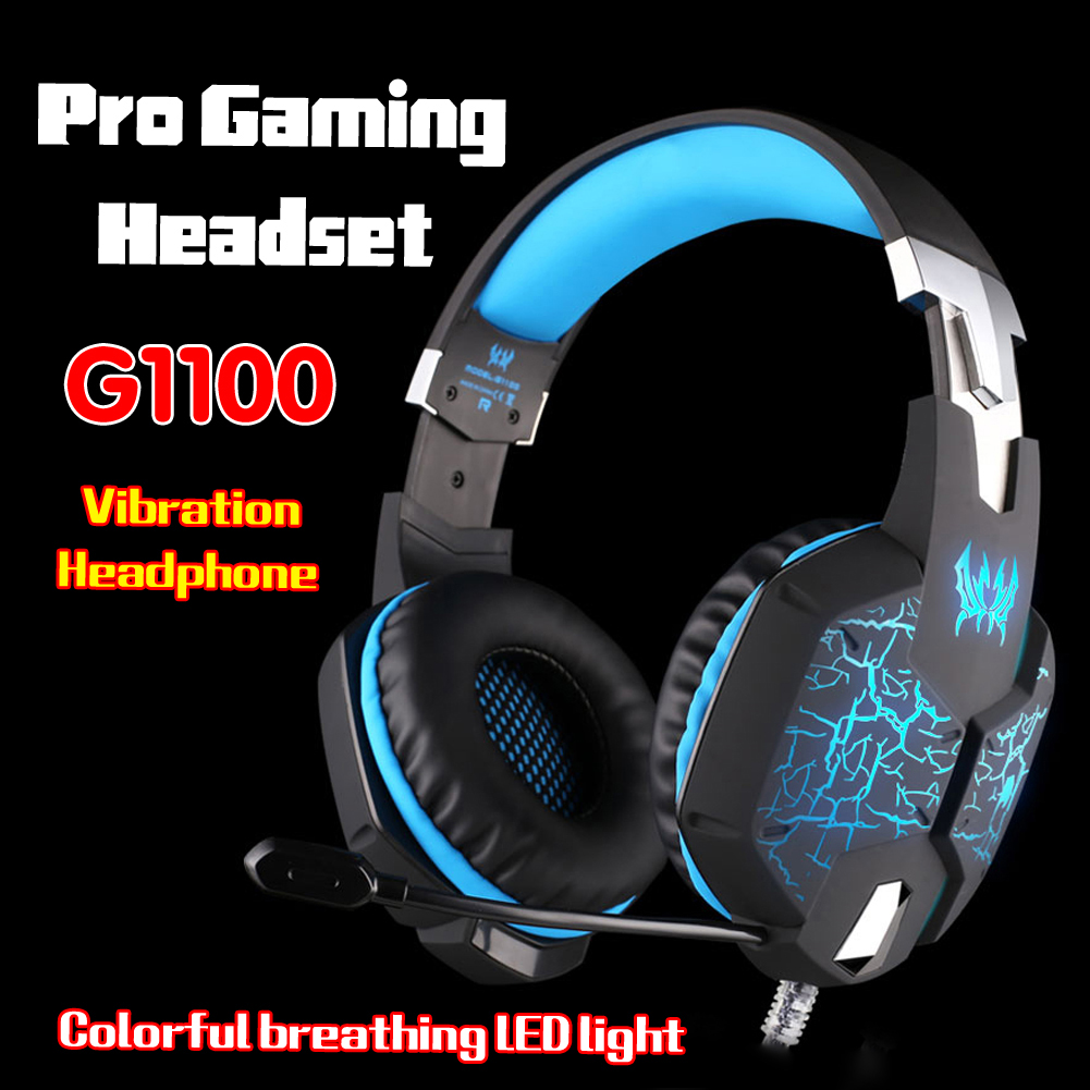 3.5mm G2100 B3505 G1100 GS210 G9000 Game Gaming Headphone Headset Earphone With Mic For Laptop Tablet / PS4 / Mobile Phones<br><br>Aliexpress