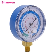 New Air Conditioner R410A R134A R22 Refrigerant Low Pressure Gauge PSI KPA Blue #G205M# Best Quality