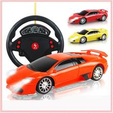 Low Price 1:22 Remote Control Model 4CH RC Car with Aiming Circle Electric Gift Miniature Scale Automobiles Machine Kids Boy Toy(China)