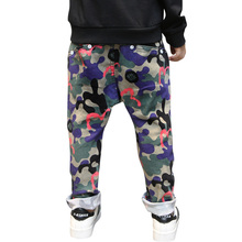 2017 Spring Fall New Boys Fashion Camouflage Pants Children's Sports Clothes Army Uniform Trousers Kids Casual Long Pant A149(China)
