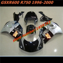 Nn HW- hot sale motorcycle fairing fits for GSX R600 R750 1996 2000 Motocycle Accessories over(China)