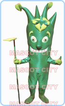 mascot green phlegm mascot costume adult size cartoon Lungs Health advertising theme costumes performing fancy dress kits 2810(China)