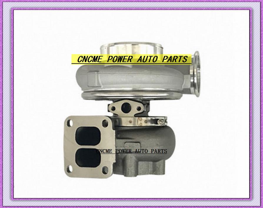 GT42 GT4292 Oil Cooled Turbo compressor AR .60 turbine 1.05 AR 1000HP T4 6 Bolt Turbine Turbocharger (1)