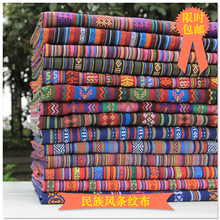 1 meter cotton fabric for sewing ethnic fabric tecido zakka patchwork fabric diy scarf table cloth curtain decoration handmade
