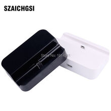 SZAICHGSI base Sync Data Charge Dock adapter For iPhone 6 6 Plus 5 5S Docking Station wholesale 20pcs/lot(China)