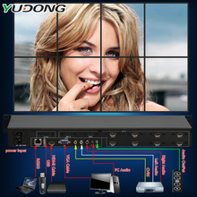 YD-TV08 Video Wall Controller 8 Channel HDMI VGA AV Video Processor2x2 2x3 2x4 8 images Splicing Processor