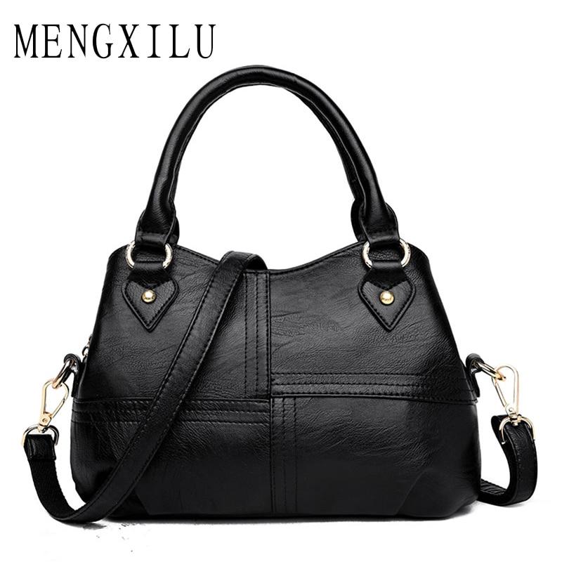 MENGXILU Brand Tote Luxury Handbags Women Bags Designer Handbags High Quality PU Leather Bags Women Crossbody Bag Ladies New Sac<br>