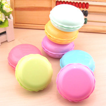 LIUSVENTINA cute Macaroon  contact lens case lenses container box