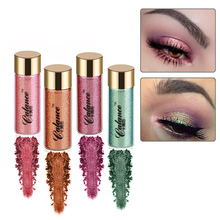 Long Lasting Pigments Eyes Glitter Powder Eyeshadow Cosmetics Vintage Color Brightener Waterproof Shimmer Eye Shadow Make Up