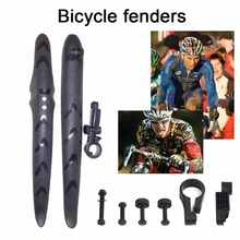 2 pcs/set Bicycle Mudguard Mountain Bike Fenders Set Mud Guards MTB Cycling Mudguard Wings Bicycle Front/Rear Fenders