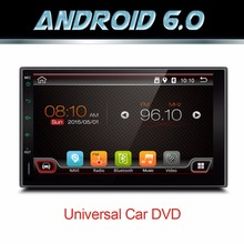 "7"" 2Din 1024*600 Android 6.0 Car Tap PC Tablet 2 din Universal For Nissan GPS Navigation BT Radio Stereo Audio Player(No DVD)(China)"