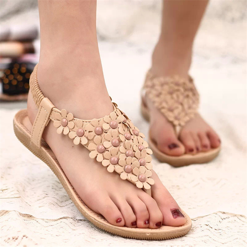 2017 New Women Summer Shoes Flat Heel Flip Brief Herringbone Flip-flop Sandals Ladies Sandals Flat Shoes sapato feminino<br><br>Aliexpress