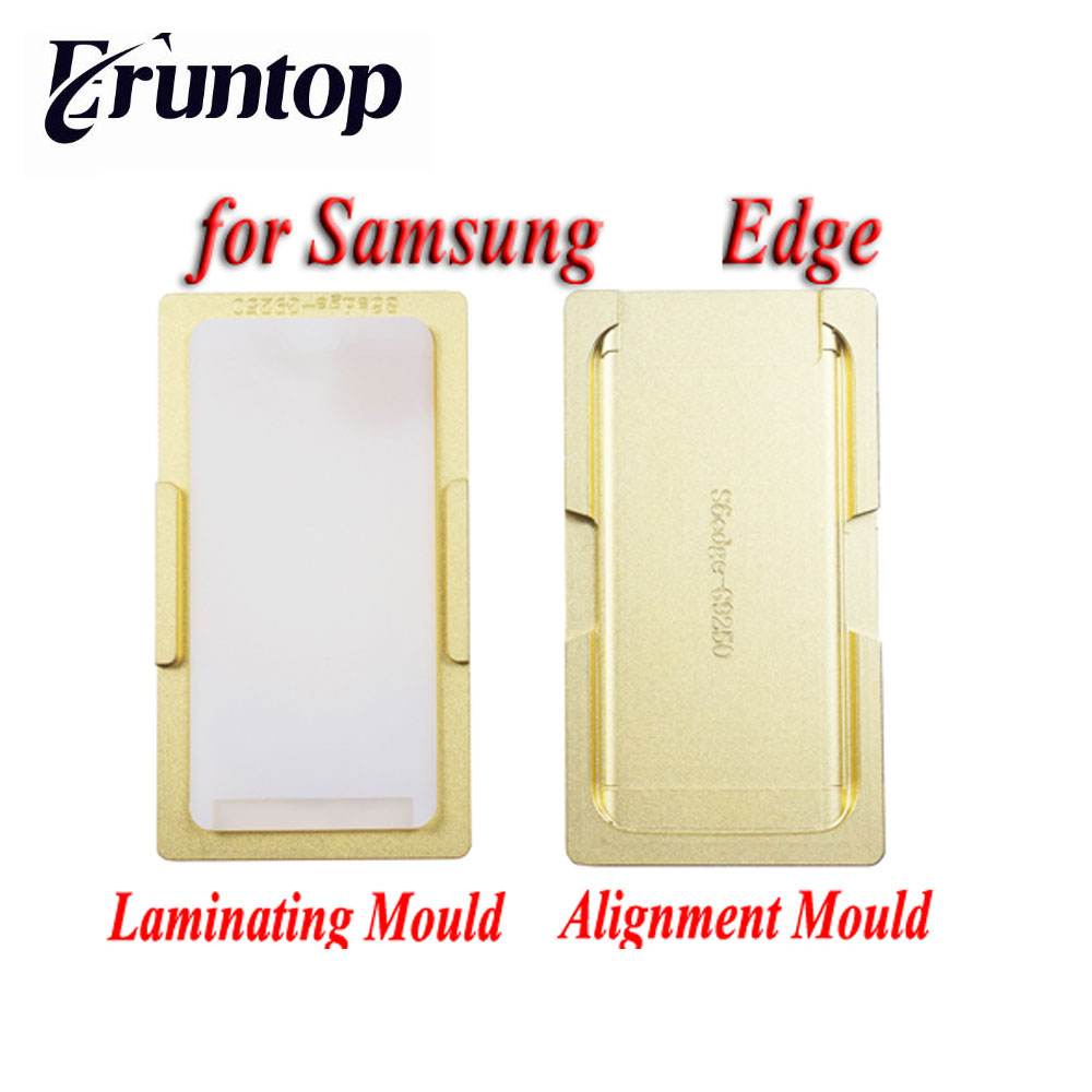 2PCS High Precision Metal Mold Mould For Samsung S6 Edge S7 Edge  LCD Screen Laminating and Location<br>