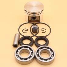38mm Piston Pin Rings Kit / Crankshaft Bearing Oil Seals Kit For STIHL 018 MS180 Chainsaw Engine Parts 11300302004, 96380031581