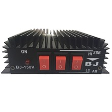 New Arrivals BAOJIE BJ-150 HF Transceiver Ham CB Radio HF Power Amplifier Red Color for radio walkie talkie
