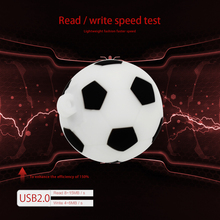 New soccer pen drive 64GB 32GB 16GB 8GB 4GB Football USB 2.0 Flash Memory Stick usb flash drive U Disk Pendrive creative