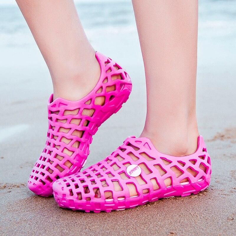Women Men Lightweight Water Shoes Outdoor Sports Soft Beach Shoe Flats Plus Size