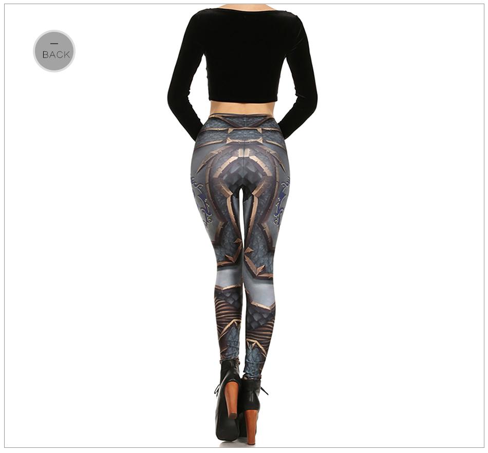 17 New Design Spring Summer WOW OF THE HORDE Legins Popular Fashion Leggins Printed Women Leggings 20