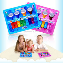 Toy pad Tablet Educational Electronic Toy Learn baby laptop,YPad baby piano musical drums toys tablet for kids,2 colors