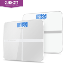 GASON A1 Bathroom Body Scales Glass Smart Household Electronic Digital Floor Weight Balance Bariatric LCD Display 180KG/50G