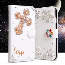 Buy Bling Rhinestone cases Huawei Y5 2017 Case Wallet Leather Cover Filp Stand Diamond Phone Bag Huawei Y 5 2017 Case for $8.16 in AliExpress store