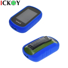 Outdoor Hiking Handheld GPS Protect Blue Silicon Rubber Case Skin for Garmin eTrex Touch 25 35 35T  Accessories