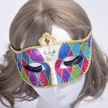 1Pc Hot Multi-type Masquerade Performance Half Face Lace Princess Venice Halloween Christmas Party Masks Ball Venetian Mask PP0