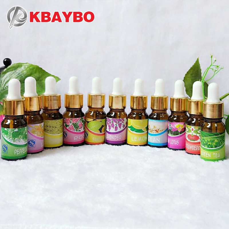 KBAYBO Essential Oils for aroma diffuser air Humidifier Aromatherapy Water-soluble Oil 12 Kinds of Fragrance Jasmine Lavender  (China)