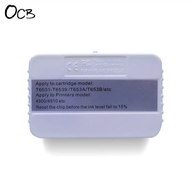 Cartridge Chip Resetter For Epson Stylus Pro 4900 4910 Printer Chip Resetter<br>