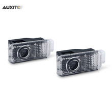 2x LED Car Door Light For Audi Logo Laser Projector For Audi A3 A1 A5 A6 C6 A8 A4 B6 B8 B5 C5 80 A7 Q3 Q5 Q7 TT R8 A4L A8L A6L