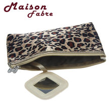 Maison Fabre Woman girl Portable Storage Makeup Bag Sexy bag Leopard Small  mirror Star recommended b  dropship 841cf9605978