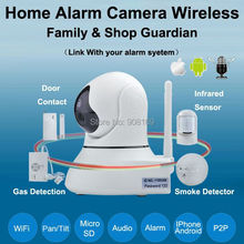 Best wireless Ip camera wifi home alarm baby Monitors Pan/Tilt/ Night Vision Internet Surveillance Camera Built-in Microphone(China)