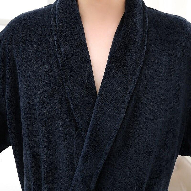 winter warm robes men (2)
