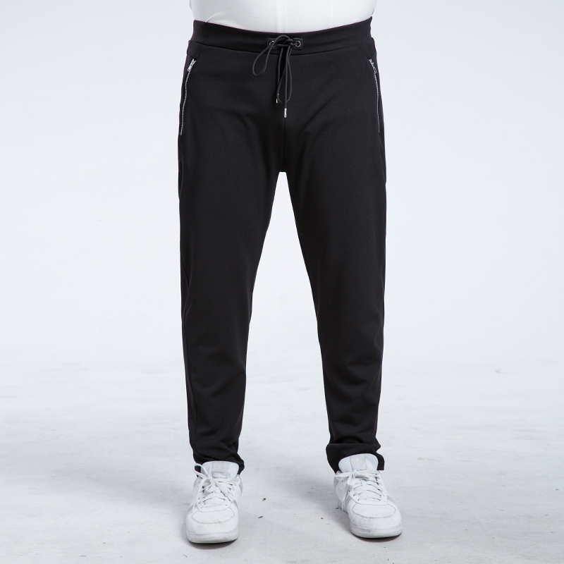 2017 Brand New Fashion Brand Sweatpants Trousers trend of casual mens Slim small straight slacks knit Wei pants 6XL 7XL solidОдежда и ак�е��уары<br><br><br>Aliexpress
